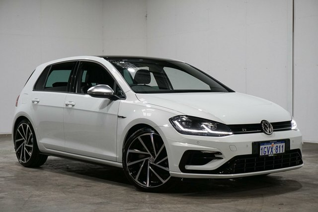 Used Volkswagen Golf 7.5 MY18 R DSG 4MOTION, 2017 Volkswagen Golf 7.5 MY18 R DSG 4MOTION White 7 Speed Sports Automatic Dual Clutch Hatchback