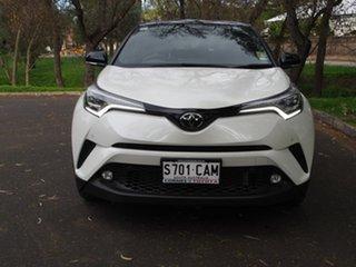 2019 Toyota C-HR NGX50R Koba S-CVT AWD Crystal Pearl & Black Roof 7 Speed Constant Variable Wagon