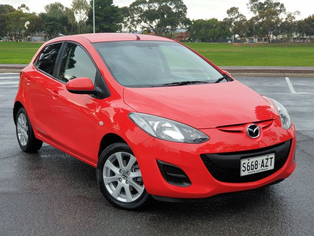 Used Mazda 2 DE10Y2 MY14 Neo Sport, 2013 Mazda 2 DE10Y2 MY14 Neo Sport Red 4 Speed Automatic Hatchback