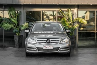 2011 Mercedes-Benz C-Class W204 MY11 C250 CDI BlueEFFICIENCY 7G-Tronic Avantgarde Silver 7 Speed.