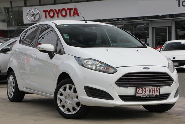 Used Ford Fiesta WZ Ambiente PwrShift, 2014 Ford Fiesta WZ Ambiente PwrShift White 6 Speed Automatic Hatchback