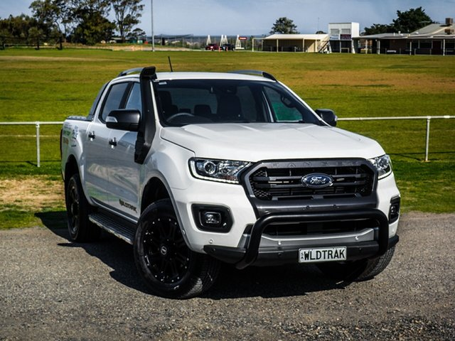 Demo Ford Ranger PX MkIII 2019.00MY Wildtrak Pick-up Double Cab, 2019 Ford Ranger PX MkIII 2019.00MY Wildtrak Pick-up Double Cab Arctic White 6 Speed