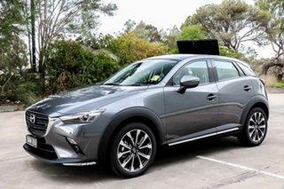 2019 Mazda CX-3 DK2W7A sTouring SKYACTIV-Drive FWD Machine Grey 6 Speed Sports Automatic Wagon.