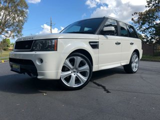 2010 Land Rover Range Rover Sport L320 10MY TDV6 White 6 Speed Automatic Wagon