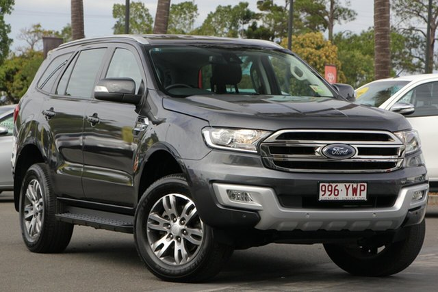 Used Ford Everest UA 2018.00MY Trend RWD, 2018 Ford Everest UA 2018.00MY Trend RWD Grey 6 Speed Sports Automatic Wagon