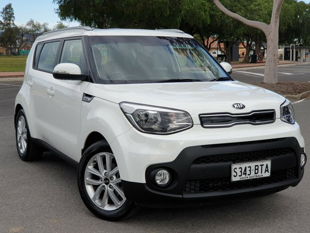 Used Kia Soul PS MY17 SI, 2017 Kia Soul PS MY17 SI White 6 Speed Sports Automatic Hatchback