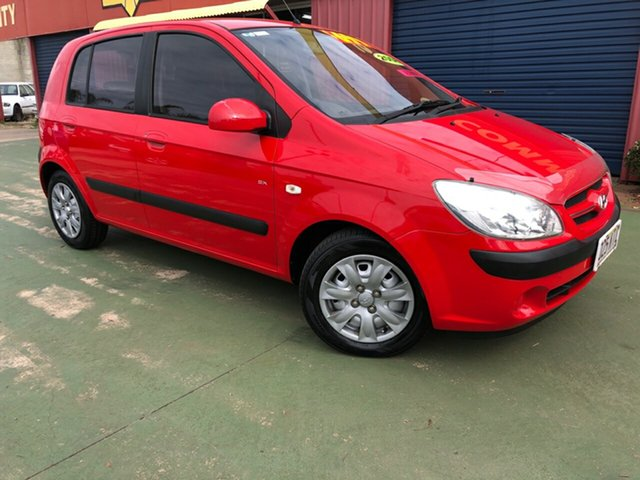 Used Hyundai Getz TB MY07 SX, 2007 Hyundai Getz TB MY07 SX 4 Speed Automatic Hatchback