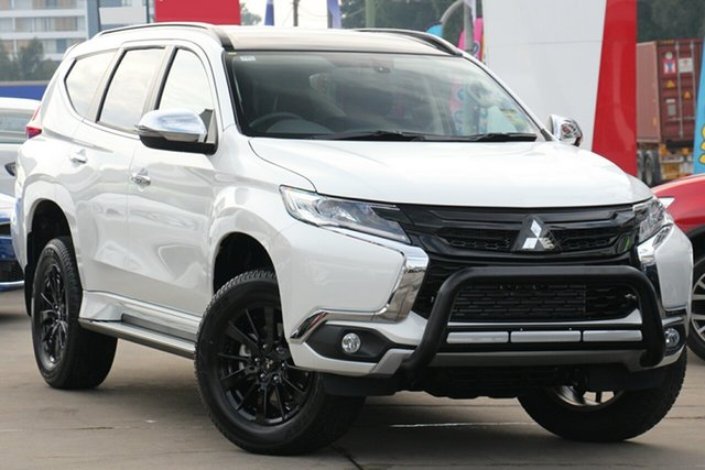 New Mitsubishi Pajero Sport QE MY19 Black Edition, 2019 Mitsubishi Pajero Sport QE MY19 Black Edition Starlight 8 Speed Sports Automatic Wagon