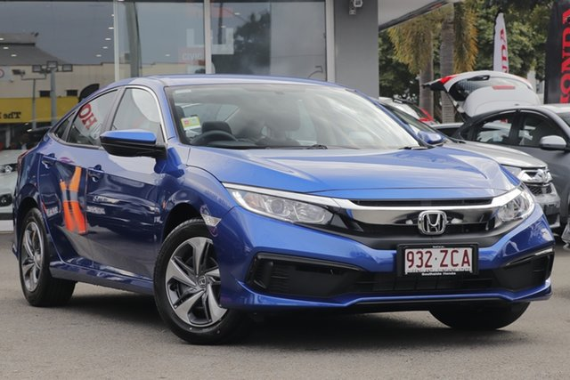 Demo Honda Civic 10th Gen MY19 VTi, 2019 Honda Civic 10th Gen MY19 VTi Blue 1 Speed Constant Variable Hatchback