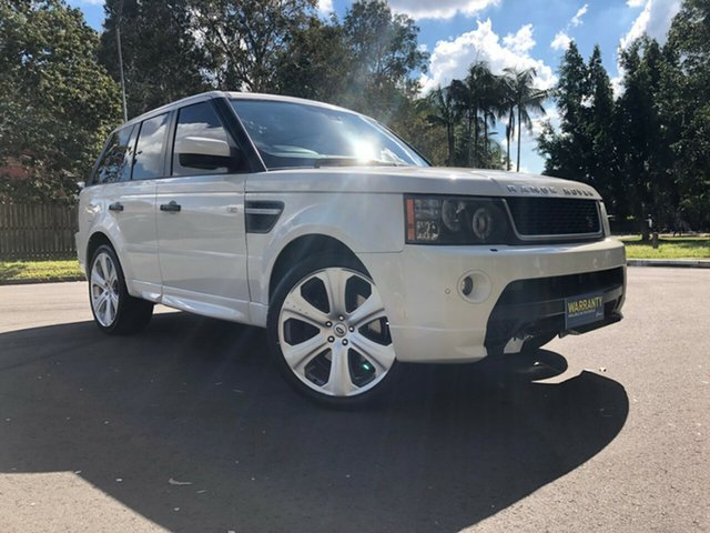 Used Land Rover Range Rover Sport L320 10MY TDV6 Underwood, 2010 Land Rover Range Rover Sport L320 10MY TDV6 White 6 Speed Automatic Wagon