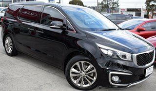 2015 Kia Carnival YP MY15 Platinum Black 6 Speed Sports Automatic Wagon.