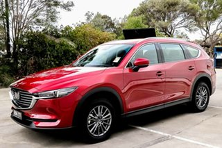 2018 Mazda CX-8 KG4W2A Sport SKYACTIV-Drive i-ACTIV AWD Soul Red Crystal 6 Speed Sports Automatic.