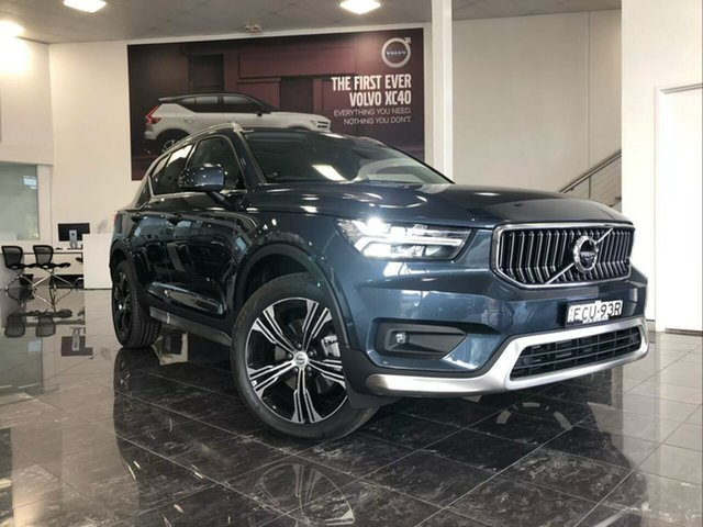 Used Volvo XC40 536 MY19 T4 Inscription (AWD), 2018 Volvo XC40 536 MY19 T4 Inscription (AWD) Denim Blue 8 Speed Automatic Wagon
