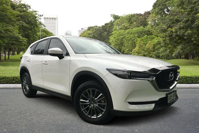 Used Mazda CX-5 KF4W2A Touring SKYACTIV-Drive i-ACTIV AWD, 2017 Mazda CX-5 KF4W2A Touring SKYACTIV-Drive i-ACTIV AWD White 6 Speed Sports Automatic Wagon