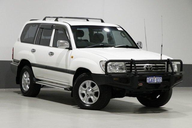 Used Toyota Landcruiser HDJ100R Upgrade GXL (4x4), 2005 Toyota Landcruiser HDJ100R Upgrade GXL (4x4) White 5 Speed Manual Wagon