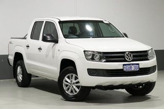 2016 Volkswagen Amarok 2H MY16 TDI420 Core Edition (4x4) White 8 Speed Automatic Dual Cab Utility.