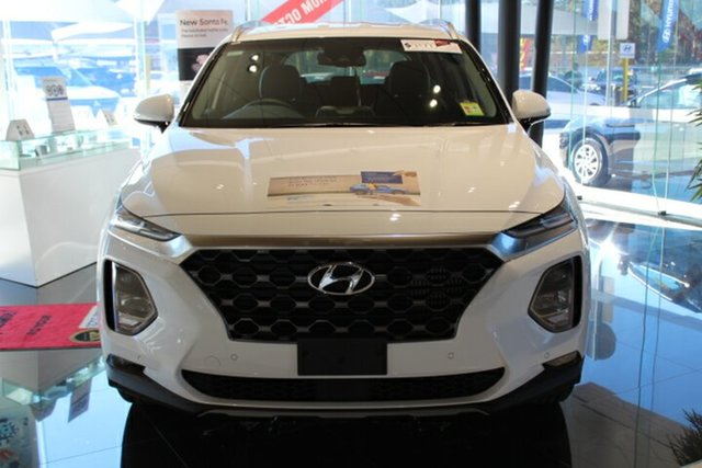New Hyundai Santa Fe TM MY19 Elite, 2019 Hyundai Santa Fe TM MY19 Elite White Cream 8 Speed Sports Automatic Wagon