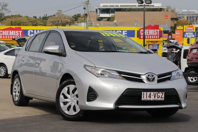 Used Toyota Corolla ZRE182R Ascent, 2014 Toyota Corolla ZRE182R Ascent Silver 6 Speed Manual Hatchback