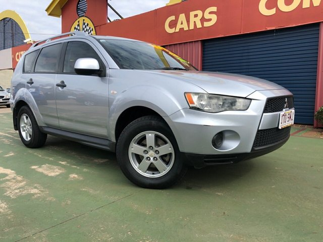 Used Mitsubishi Outlander ZH MY10 LS, 2010 Mitsubishi Outlander ZH MY10 LS 6 Speed Constant Variable Wagon
