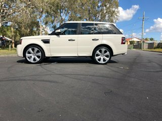 2010 Land Rover Range Rover Sport L320 10MY TDV6 White 6 Speed Sports Automatic Wagon