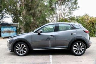 2019 Mazda CX-3 DK2W7A sTouring SKYACTIV-Drive FWD Machine Grey 6 Speed Sports Automatic Wagon