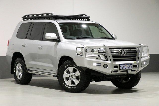 Used Toyota Landcruiser VDJ200R MY19 LC200 GXL (4x4), 2019 Toyota Landcruiser VDJ200R MY19 LC200 GXL (4x4) Silver 6 Speed Automatic Wagon