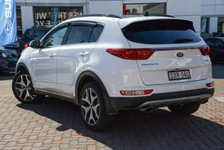 2017 Kia Sportage QL MY17 GT-Line AWD White 6 Speed Sports Automatic Wagon.