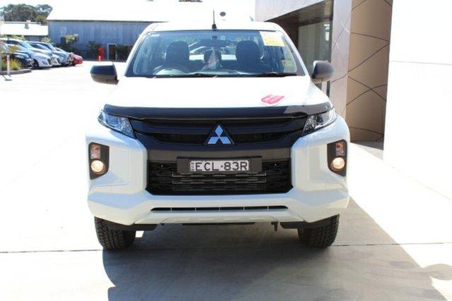 Demo Mitsubishi Triton MR MY19 GLX Double Cab, 2019 Mitsubishi Triton MR MY19 GLX Double Cab White 6 Speed Sports Automatic Utility