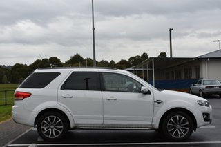 2014 Ford Territory SZ Titanium Seq Sport Shift White 6 Speed Sports Automatic Wagon.