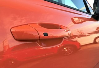 2019 Kia Stinger CK MY20 GT (Black Leather) Neon Orange 8 Speed Automatic Sedan