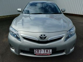 2010 Toyota Camry AHV40R Hybrid Sakana Silver Continuous Variable Sedan.