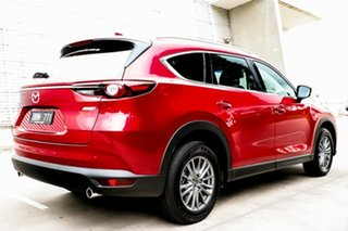 2018 Mazda CX-8 KG4W2A Sport SKYACTIV-Drive i-ACTIV AWD Soul Red Crystal 6 Speed Sports Automatic