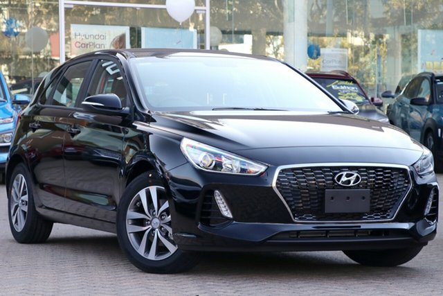 New Hyundai i30 PD2 MY20 Active, 2020 Hyundai i30 PD2 MY20 Active Phantom Black 6 Speed Sports Automatic Hatchback