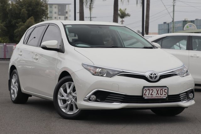 Used Toyota Corolla ZRE182R Ascent Sport S-CVT, 2017 Toyota Corolla ZRE182R Ascent Sport S-CVT Crystal Pearl 7 Speed Constant Variable Hatchback