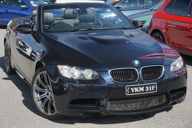Used BMW M3 E93 MY0312 M-DCT, 2012 BMW M3 E93 MY0312 M-DCT Blue 7 Speed Sports Automatic Dual Clutch Convertible