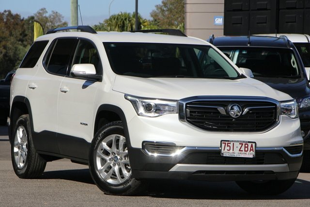 Demo Holden Acadia AC MY19 LT AWD, 2019 Holden Acadia AC MY19 LT AWD Abalone White 9 Speed Sports Automatic Wagon