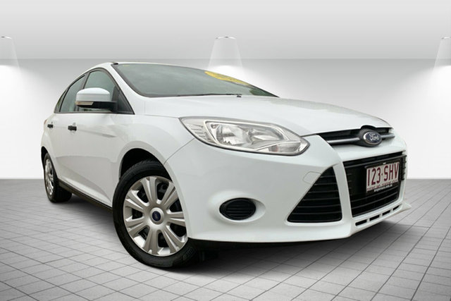 Used Ford Focus LW Ambiente PwrShift, 2012 Ford Focus LW Ambiente PwrShift White 6 Speed Sports Automatic Dual Clutch Hatchback