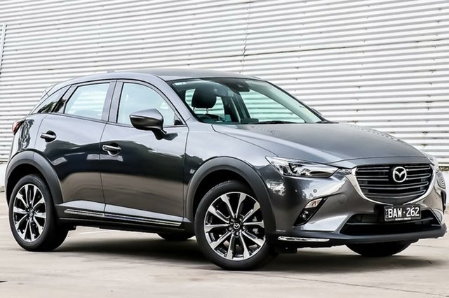 Demo Mazda CX-3 DK2W7A sTouring SKYACTIV-Drive FWD, 2019 Mazda CX-3 DK2W7A sTouring SKYACTIV-Drive FWD Machine Grey 6 Speed Sports Automatic Wagon