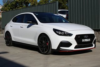2019 Hyundai i30 PDe.3 MY19 N Fastback Performance Polar White 6 Speed Manual Coupe.