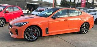 2019 Kia Stinger CK MY20 GT Fastback Neon Orange 8 Speed Sports Automatic Sedan