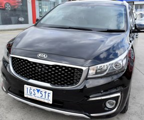 2015 Kia Carnival YP MY15 Platinum Black 6 Speed Sports Automatic Wagon