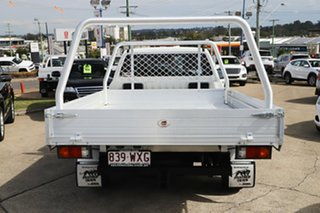 2016 Mazda BT-50 UR0YE1 XT 4x2 Cool White 6 Speed Manual Cab Chassis