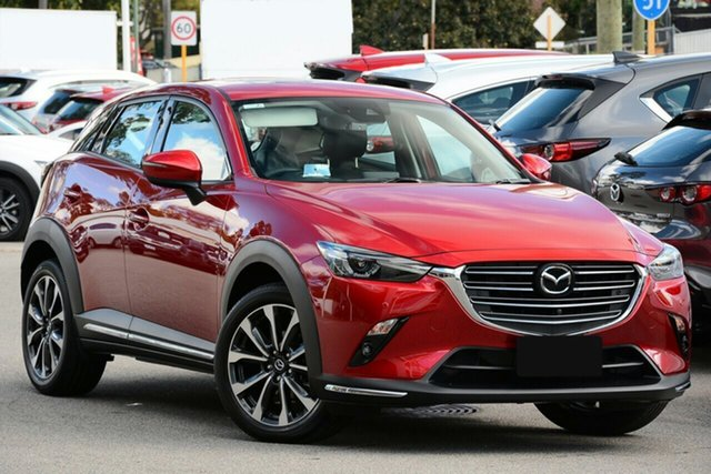 New Mazda CX-3 DK2W7A Akari SKYACTIV-Drive FWD Liverpool, 2020 Mazda CX-3 DK2W7A Akari SKYACTIV-Drive FWD Soul Red Crystal 6 Speed Sports Automatic Wagon