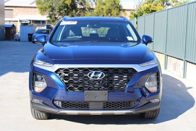 Demo Hyundai Santa Fe TM MY19 Active, 2019 Hyundai Santa Fe TM MY19 Active Stormy Sea 8 Speed Sports Automatic Wagon
