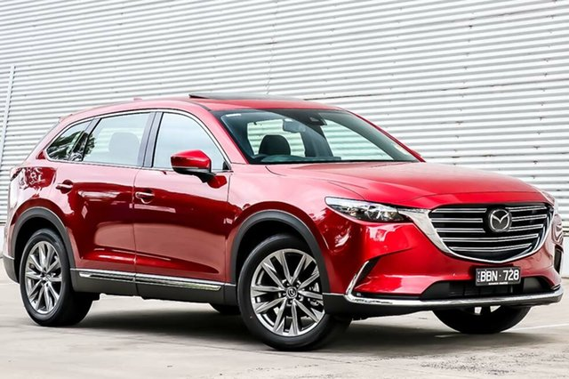 Demo Mazda CX-9 TC GT SKYACTIV-Drive i-ACTIV AWD, 2019 Mazda CX-9 TC GT SKYACTIV-Drive i-ACTIV AWD Soul Red Crystal 6 Speed Sports Automatic Wagon