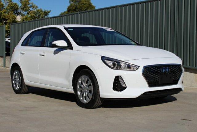 New Hyundai i30 PD MY19 Go, 2019 Hyundai i30 PD MY19 Go Polar White 6 Speed Sports Automatic Hatchback