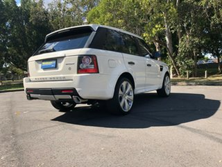 2010 Land Rover Range Rover Sport L320 10MY TDV6 White 6 Speed Automatic Wagon.