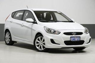 2018 Hyundai Accent RB6 MY18 Sport White 6 Speed Automatic Sedan.