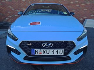 2018 Hyundai i30 PDe MY18 N Performance Performance Blue 6 Speed Manual Hatchback.