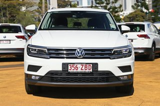 2019 Volkswagen Tiguan 5N MY19.5 132TSI DSG 4MOTION Comfortline Pure White 7 Speed